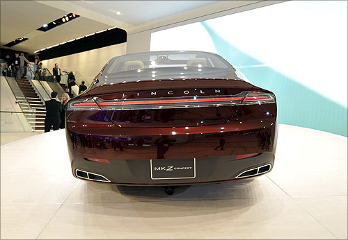 Lincoln MK Z concept car.