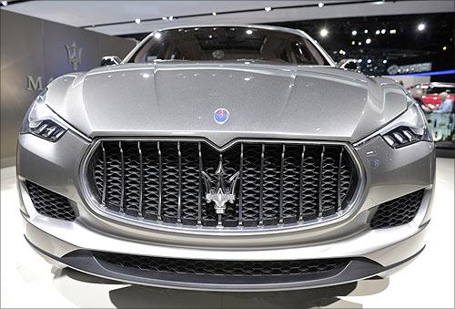 Maserati Kubang SUV.