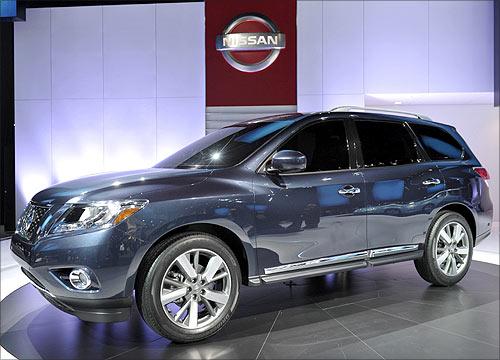 Nissan Pathfinder concept vehicle.