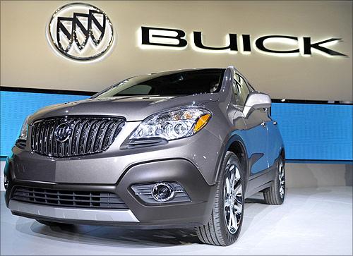 2013 Buick Encore crossover.