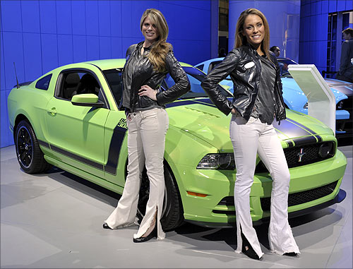 Ford Mustang Boss 302.
