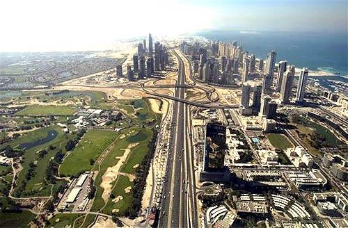 Sheikh Zayed highway.