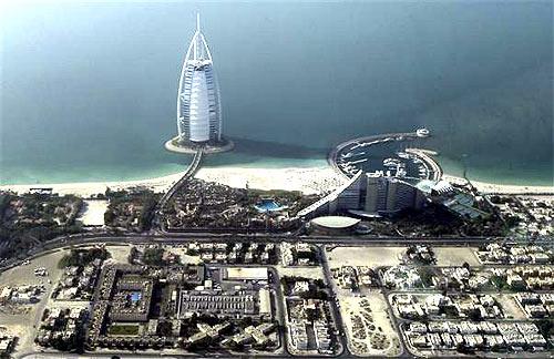 Burj Al Arab hotel.