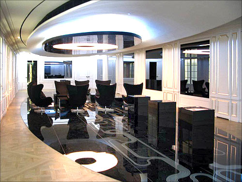 Alcatel-Lucent office.