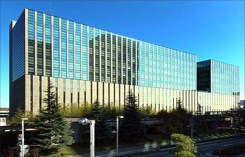 IBM building, Japan.