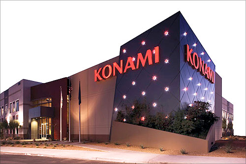 Konami office.