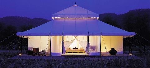 A tent in Aman-i-khas.