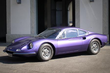 206 Dino GT (1968).
