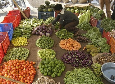 Food inflation in negative zone: What's cheaper, what's costlier?