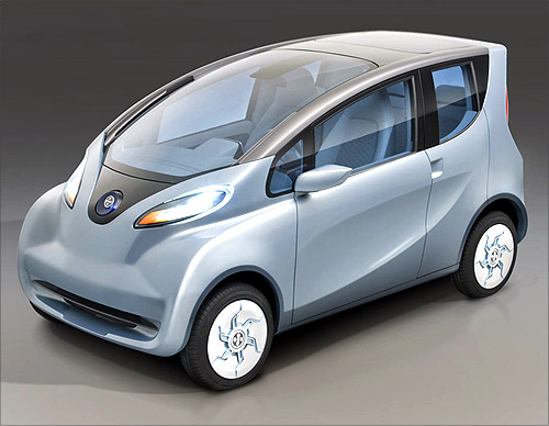Tata's new electric car.
