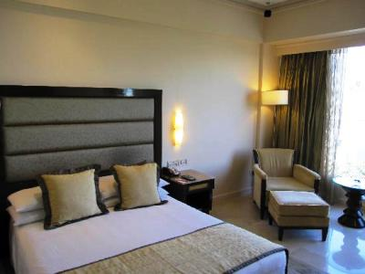 A luxury room in Vivanta by Taj.