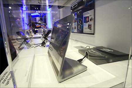 Panasonic prototype photo and video communicator.