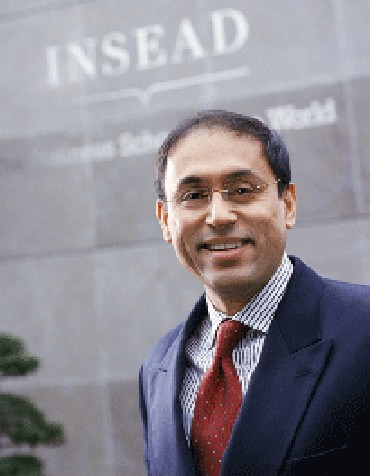 Dutta held several deputy dean-level management responsibilities at INSEAD