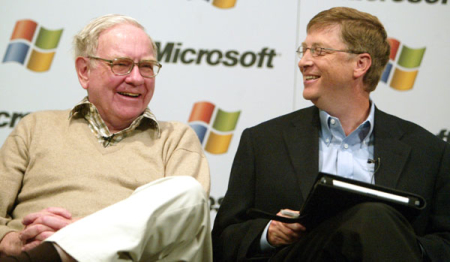 Bill Gates and Warren Buffett team up.
