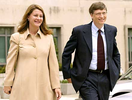 In 1994, Bill Gates married Melinda French.