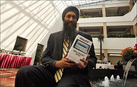 Suneet Singh Tuli, CEO of DataWind.