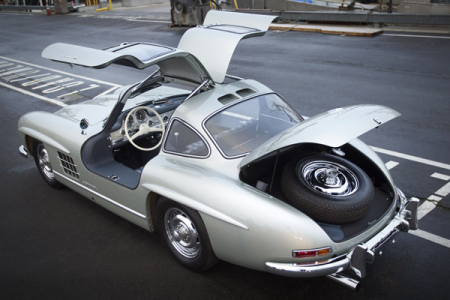 1955 Mercedes-Benz 300 SL Alloy Gullwing.