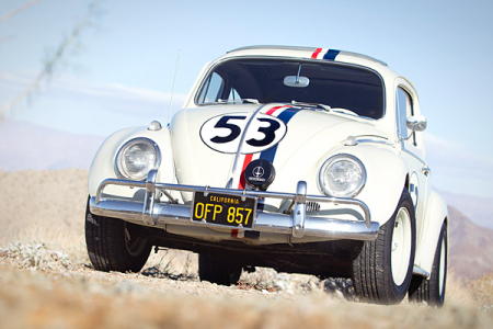 1963 Volkswagen Beetle Sunroof Sedan Herbie the Love Bug.