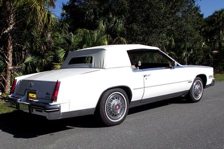 1983 Cadillac Eldorado Biarritz Convertible.