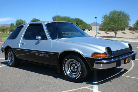 1975 AMC Pacer X.