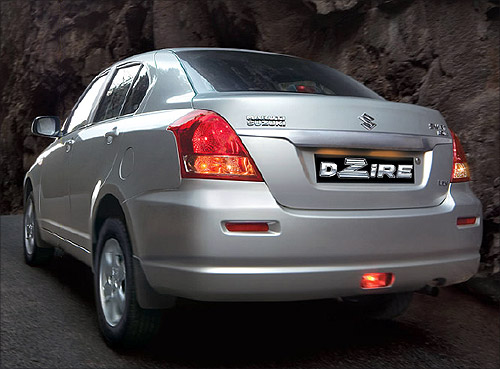 Maruti DZire.