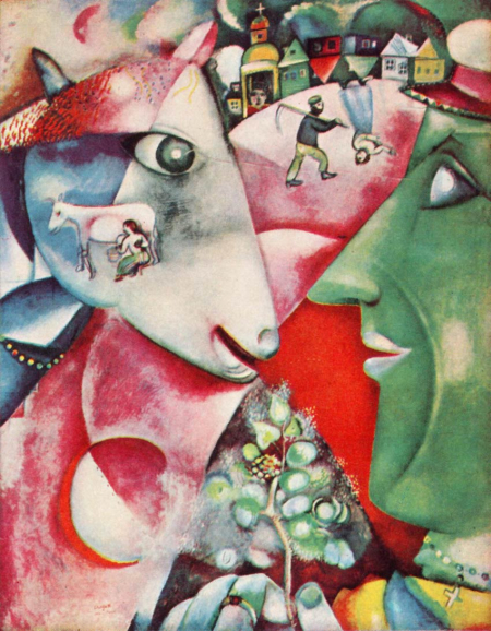 Marc Chagall's I and the Village.