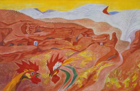Andre Masson's Ibdes in Aragon.