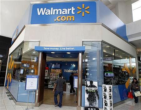 Wal-Mart store.