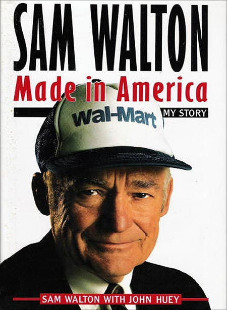 Walmart founder Sam Walton used to deliver newspapers when he was young.
