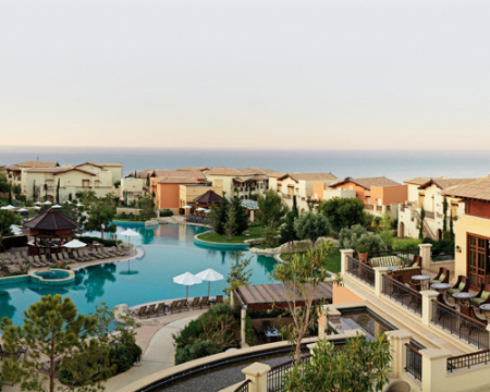 InterContinental Aphrodite Hills Resort Hotel.