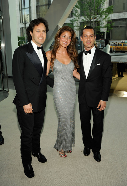 Andrew, David and Dylan Lauren.