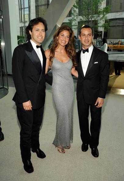 Andrew, David and Dylan Lauren.