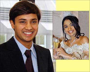 Aditya and Vanisha Mittal.