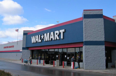 Wal-Mart is one of the world's largest companies.