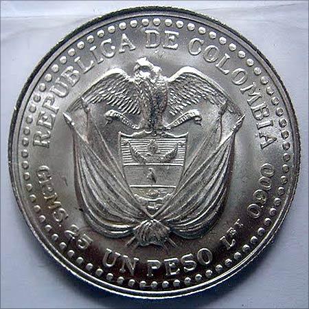 Columbian Peso.