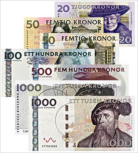 Swedish Krona.