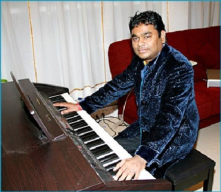 The theme music for Asianet was composed by AR Rahman