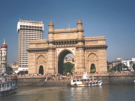 A view of Mumbai.