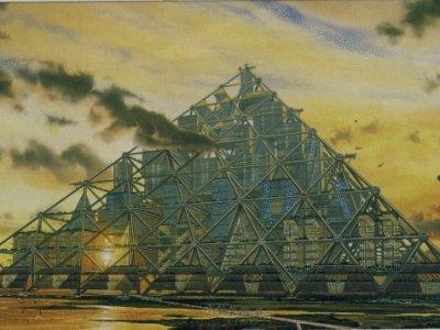 Shimizu Mega-City Pyramid.