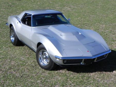 1968 Stingray Corvettes.