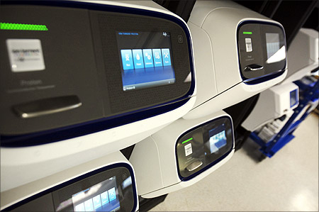 New Proton semi-conductor based genome sequencing machine by Ion Torrent is seen in Guilford.