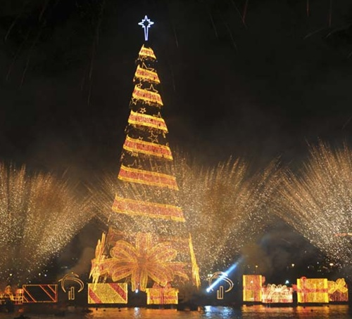 Christmas celebrations in Brazil.
