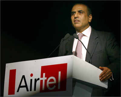 Sunil Bharti Mittal.