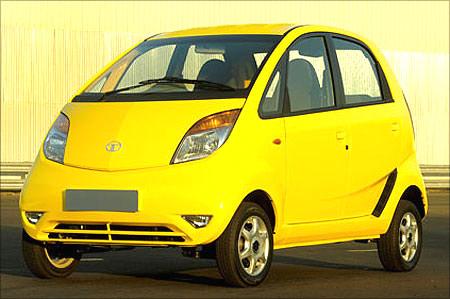 Tata Nano car.