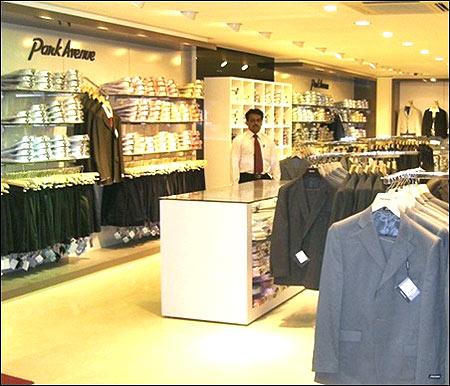 Raymonds store.