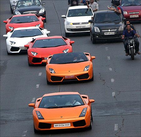 Super cars.