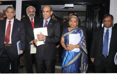 Shyamala Gopinath with RBI's top management