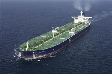 A Saudi Arabian supertanker.