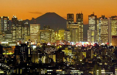 Japan is looking to reduce exposure to Iranian oil. A view of Tokyo.