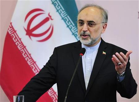 Iranian foreign minister Ali Akbar Salehi.